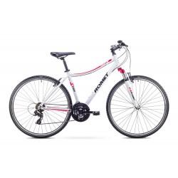 Rower ROMET ORKAN D biał/róż.  L