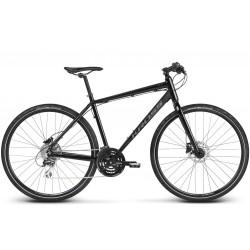 Rower KROSS 28 SETO M czarno-czerwony