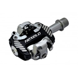 Pedały Nexelo MTB CLIP SPD 83,5x58,5mm czarne + bloki