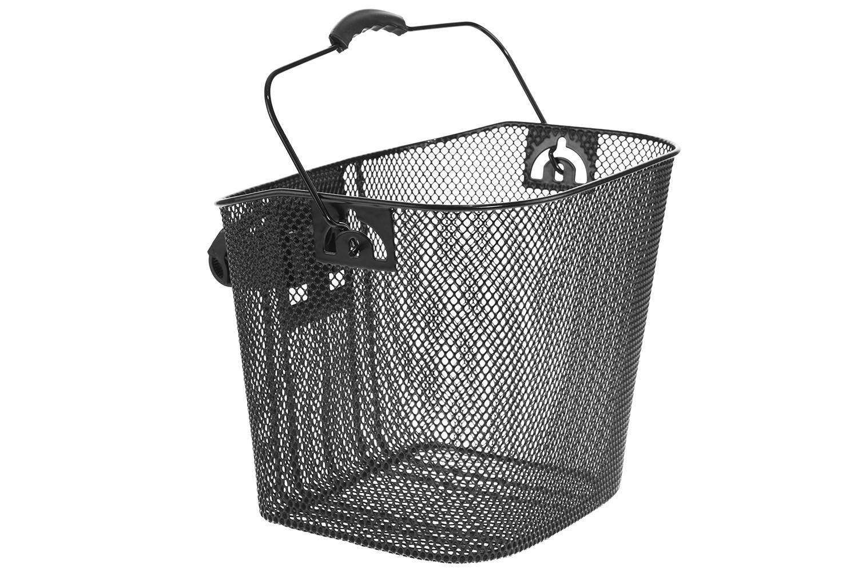 Koszyk na kierownicę na klips siatka  NEXELO czarny