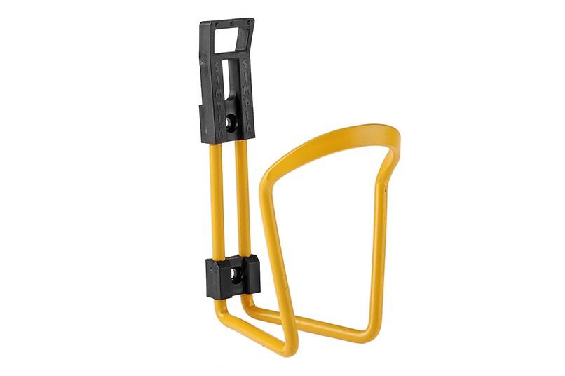 Koszyk bidonu aluminiowy Simpla Star żółty