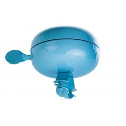 Dzwonek stal. duży DING DONG 80mm błękitny