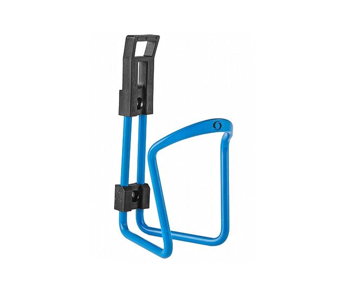 Koszyk bidonu aluminiowy Simpla Star błękitny SKY