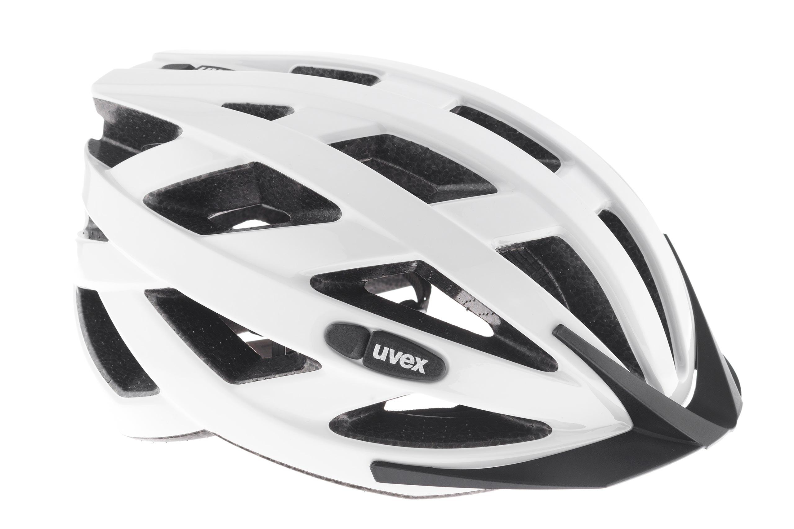 Kask UVEX I-VO - biały połysk L 55-60cm