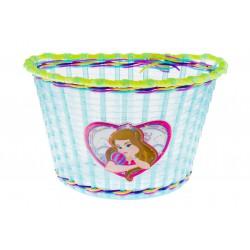koszyk na kier. dziecięcy plastik, BS11-008 niebiesko-zielony