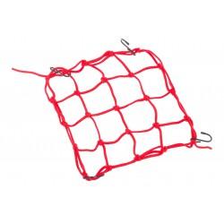 Siatka na bagażnik LeGrand Kross  25x25cm czerwona