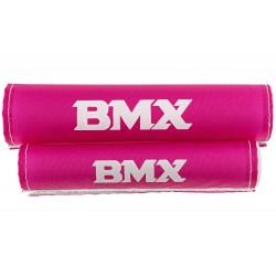 Ochraniacze piankowe na kierownice 16'' BMX 2-cz różowe