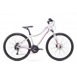 Rower 1728539-19 ROMET ORKAN 3 D biał/różowy L