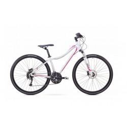 Rower 1728535-15 ROMET ORKAN 3 D biał/różowy S