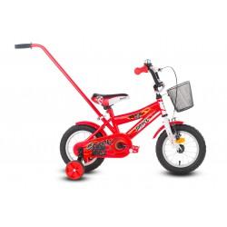 Rower 12 ROCK KIDS SPARK czerwony