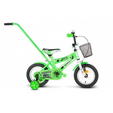 Rower 12 ROCK KIDS TROPHY zielony