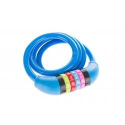 Zamknięcie spiralne na szyfr ROMET SL602 10x1000mm niebieskie