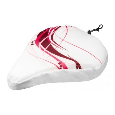 Pokrowiec na siodło M-WAVE WHITE FANCY 250x230mm biały