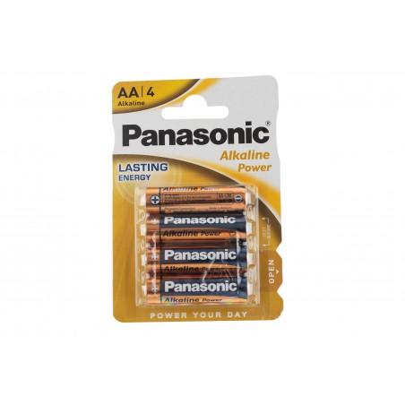 Baterie LR6 Panasonic AA Alkaline /blister 4szt/
