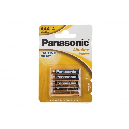 Baterie LR03 Panasonic AAA Alkaline /blister 4szt/