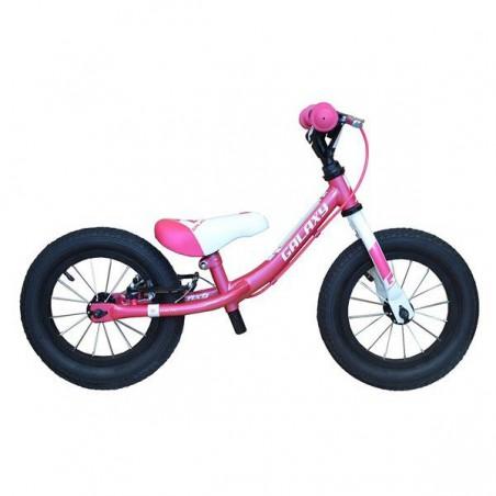 Rowerek biegowy 12 GALAXY KOSMIK różowo-biały