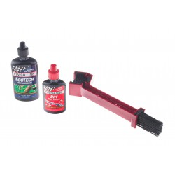 Zestaw Finish Line szczotka GRUNGE BRUSH + EcoTech 120ml + Teflon Plus 60ml