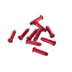 Końcówki linki ACCENT 2,3mm czerwone 10 sztuk
