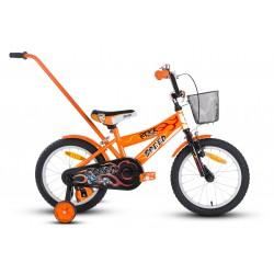 Rower 16 ROCK KIDS SPEED pomarańczowy
