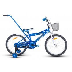 Rower 20 ROCK KIDS POLICE niebieski