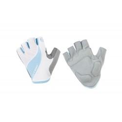Rękawiczki ACCENT BELLA biało-niebieskie L/XL