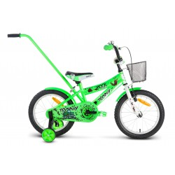 Rower 16 ROCK KIDS TROPHY zielony