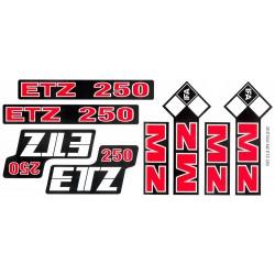Naklejka MZ ETZ250
