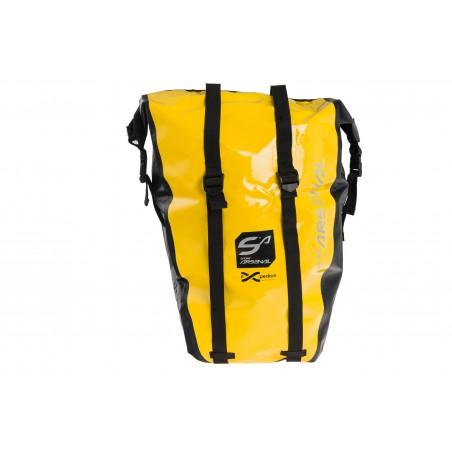 Sakwa na bagażnik Sport Arsenal boczna wodoszczelna żółta