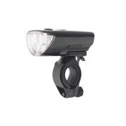 Lampa przednia /bateryjna/ X-Light XC-104A, czarna + baterie