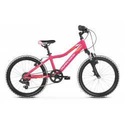 Rower 20 KROSS LEA MINI 2.0 róż-pomar mat