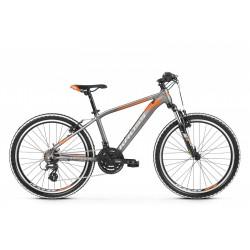 Rower 24 KROSS LEVEL JR 2.0 grafi-pomar poł