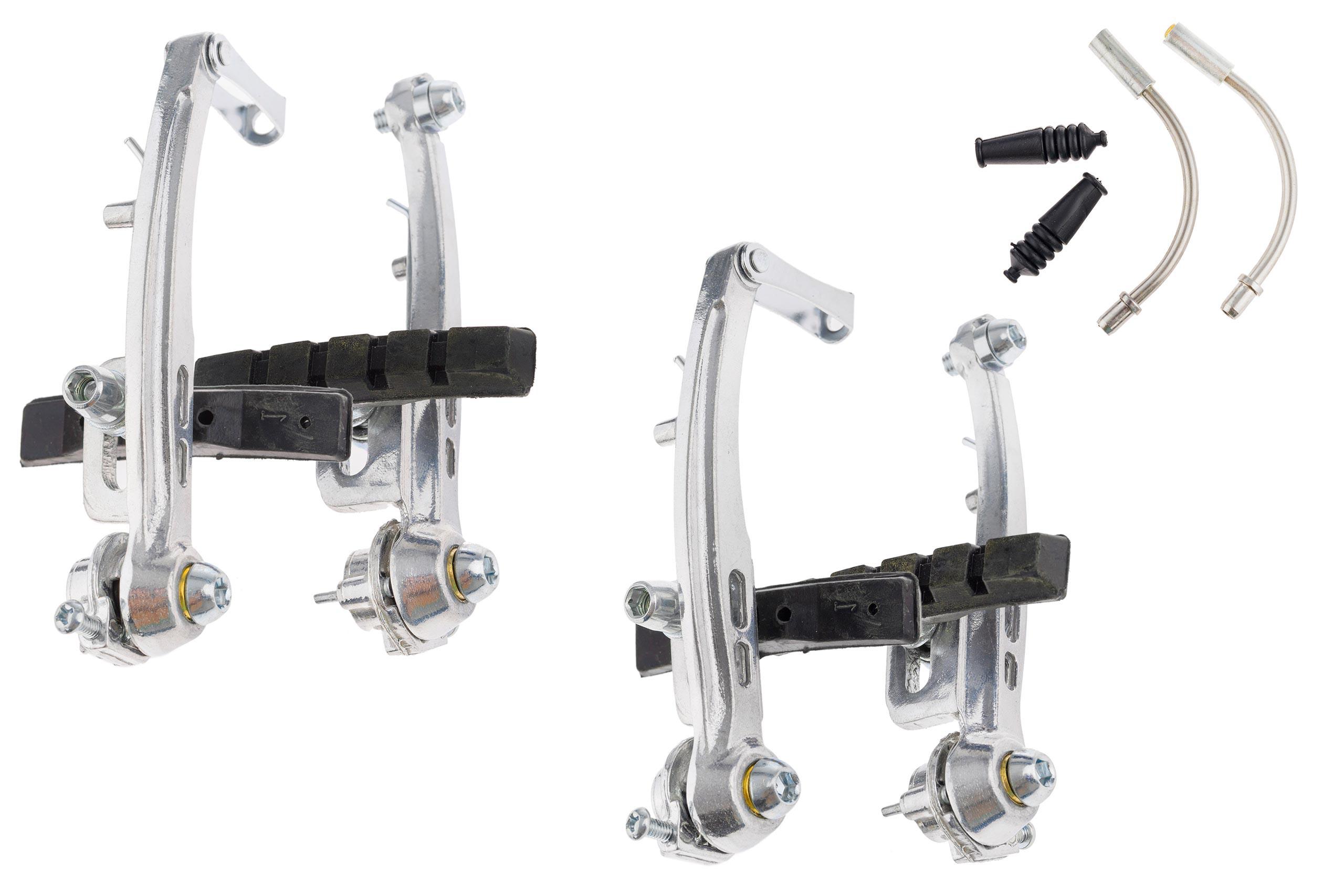 Hamulce V-brake aluminiowe 150080, 2 koła,  srebrne