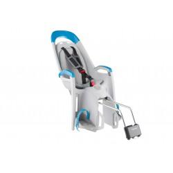 Fotelik row. HAMAX AMAZE na ramę, mocowanie z kluczem szaro-niebieski, szara wyściółka
