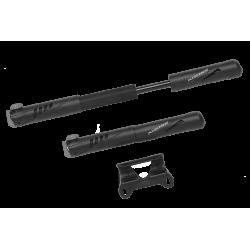 Pompka plast. KROSS HP 1.0 120psi AV/DV/FV czarna +uchwyt