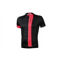 Koszulka KROSS PAVE XL, czarno-czerwona