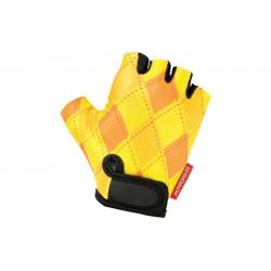 Rękawiczki dziecięce KROSS JOY rozm. S żółte