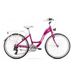 """Rower 1924040-13 ROMET PANDA 24"""" Tourney  S  różowy ver 2"""