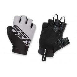 Rękawiczki KROSS Race Short 2.0 czarno-grafit L