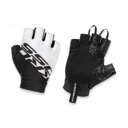 Rękawiczki KROSS Race Short 2.0 czarno-białe L