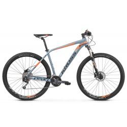 Rower KROSS 27,5 LEVEL 4.0 S szaro-pomarańcz. połysk