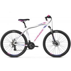 Rower 26 KROSS LEA 3.0 XXS biało-fiolet poł