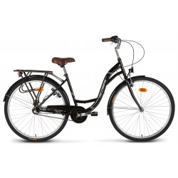 "Rower 28"" VELLBERG CityLine NEXUS 3-biegi czarny"