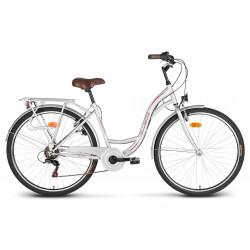 "Rower 28"" VELLBERG CityLine TY300 6-bieg srebrny"