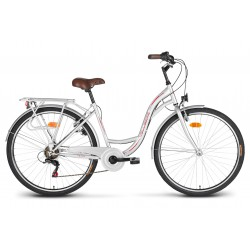 "Rower 26"" VELLBERG CityLine TY300 6-bieg srebrny"