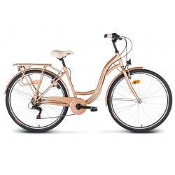 """Rower 26"""" VELLBERG CityLine TY300 6-bieg złoty"""