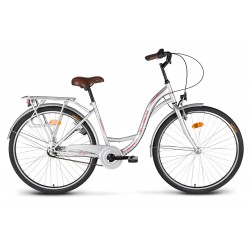"Rower 28"" VELLBERG CityLine NEXUS 3-biegi srebrny"