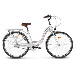 "Rower 26"" VELLBERG CityLine NEXUS 3-biegi srebrny"