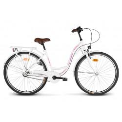 """Rower 28"""" VELLBERG CityLine NEXUS 3-biegi biały"""