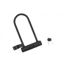 Zamknięcie na klucz KROSS KZU360 U-Lock czarny