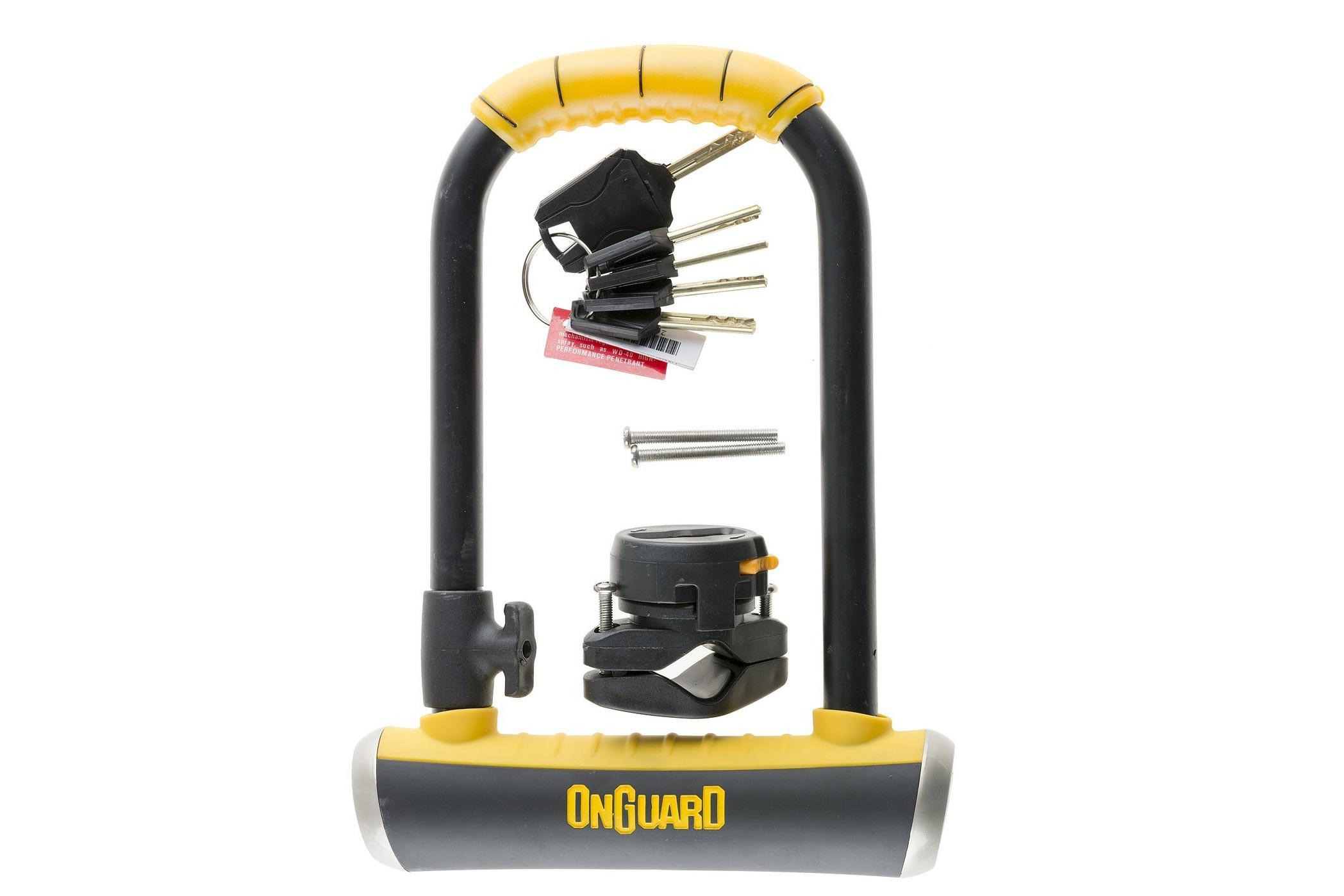 Zamknięcie ONGUARD Brute STD 8001 U-LOCK - 5 x Klucze z kodem